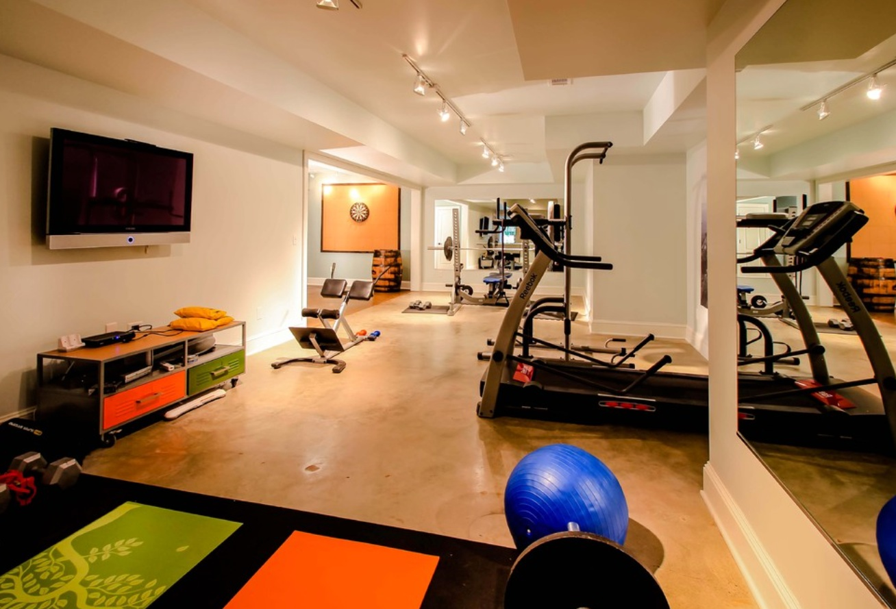 Friday finds exercise room design hirshfield s