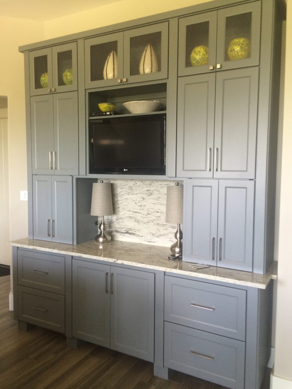 grey kitchen cabinet paint choosing colors going from beige to greige hirshfield s 16091